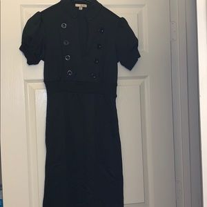 Black Military Style Dress